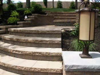 Superb Multi Level Patio With Steps